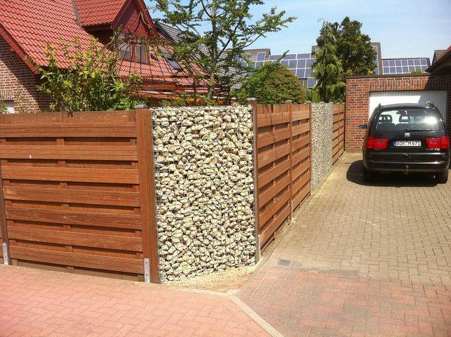 Gabionen Mit Holz Affordable Gabione With Gabionen Mit Holz Good